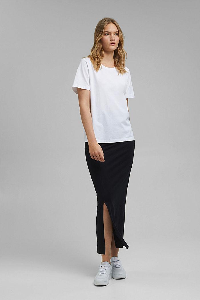 Organic cotton T-shirt, WHITE, detail image number 5