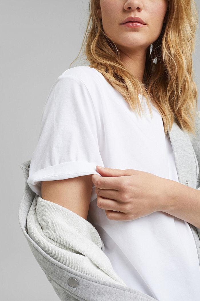 Organic cotton T-shirt, WHITE, detail image number 2