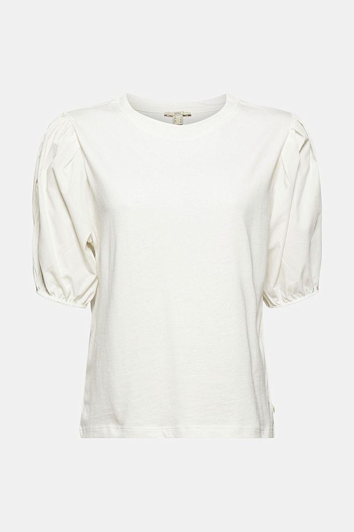 T-Shirt mit Puffärmeln, Organic Cotton