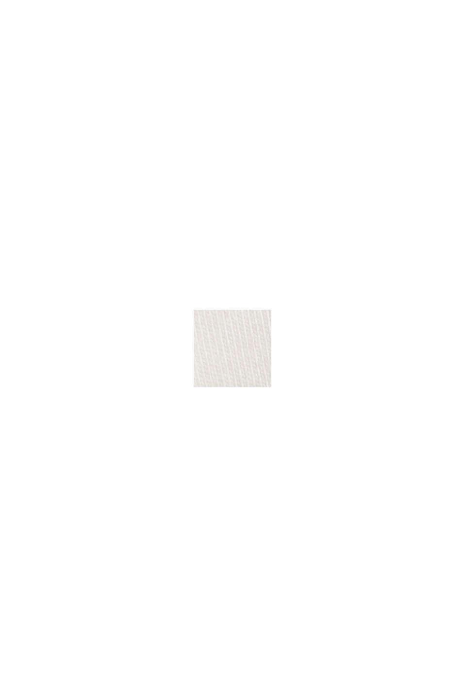 T-Shirt mit Puffärmeln, Organic Cotton, OFF WHITE, swatch