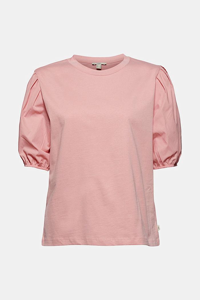 Puhvihihallinen T-paita luomupuuvillaa