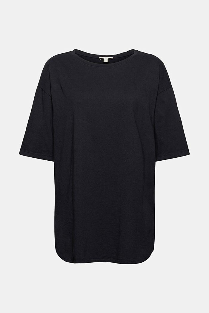 Camiseta larga de estilo oversize en 100% algodón ecológico