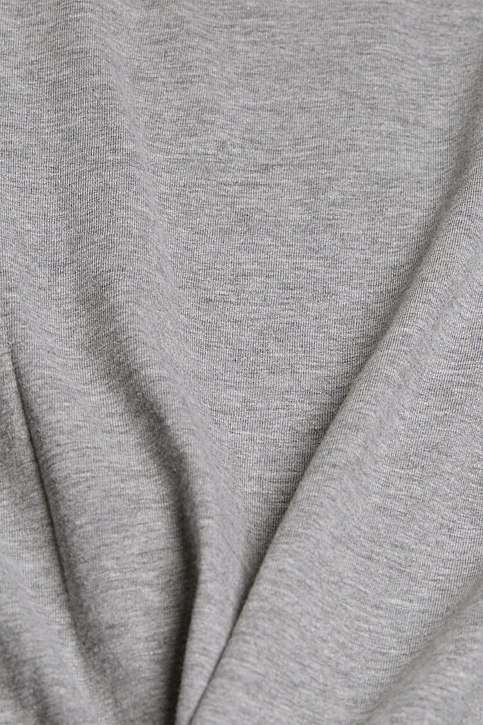 T-Shirt mit Art-Print, Organic Cotton, MEDIUM GREY, detail image number 4