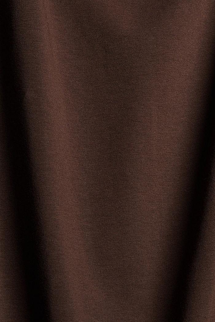 Tanktop aus Organic Cotton, BROWN, detail image number 4