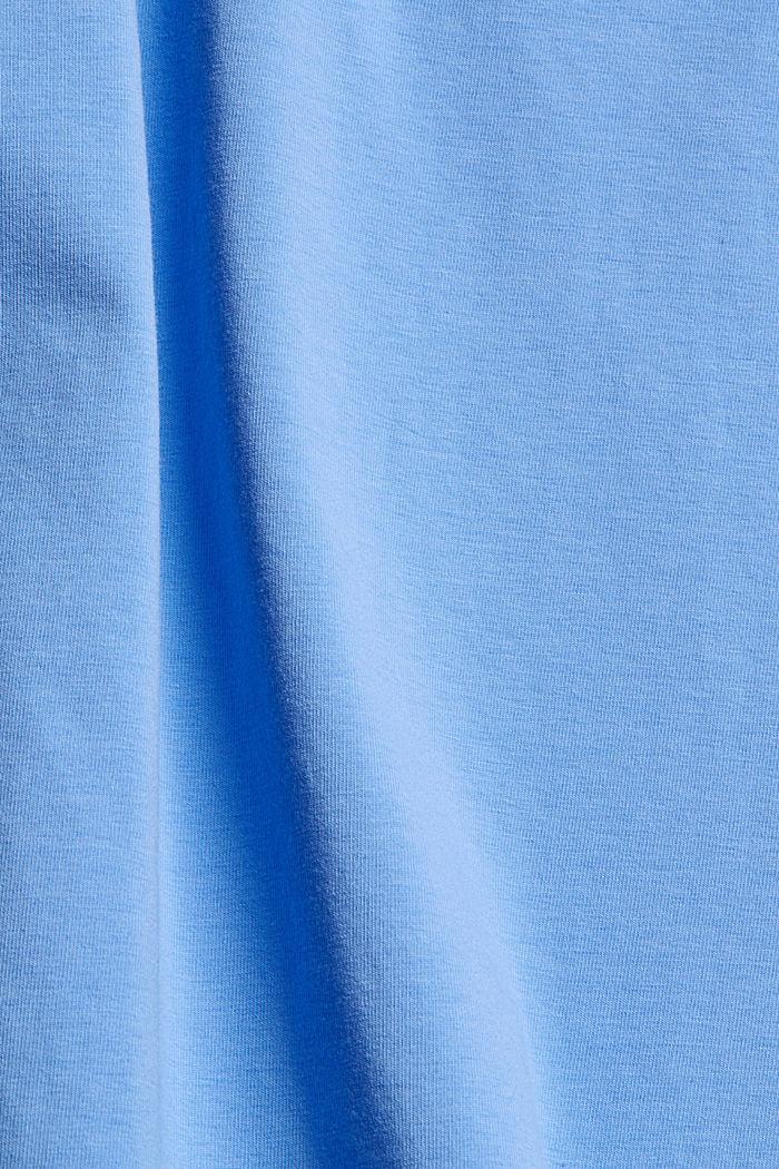 Tanktop aus Organic Cotton, BRIGHT BLUE, detail image number 4