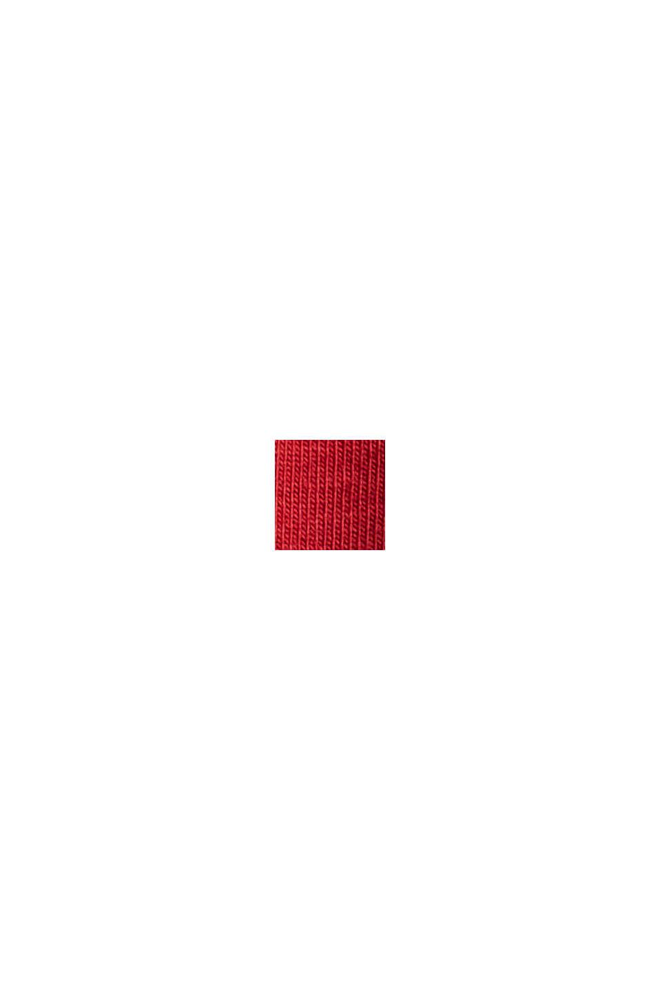 Tanktop af økologisk bomuld, DARK RED, swatch