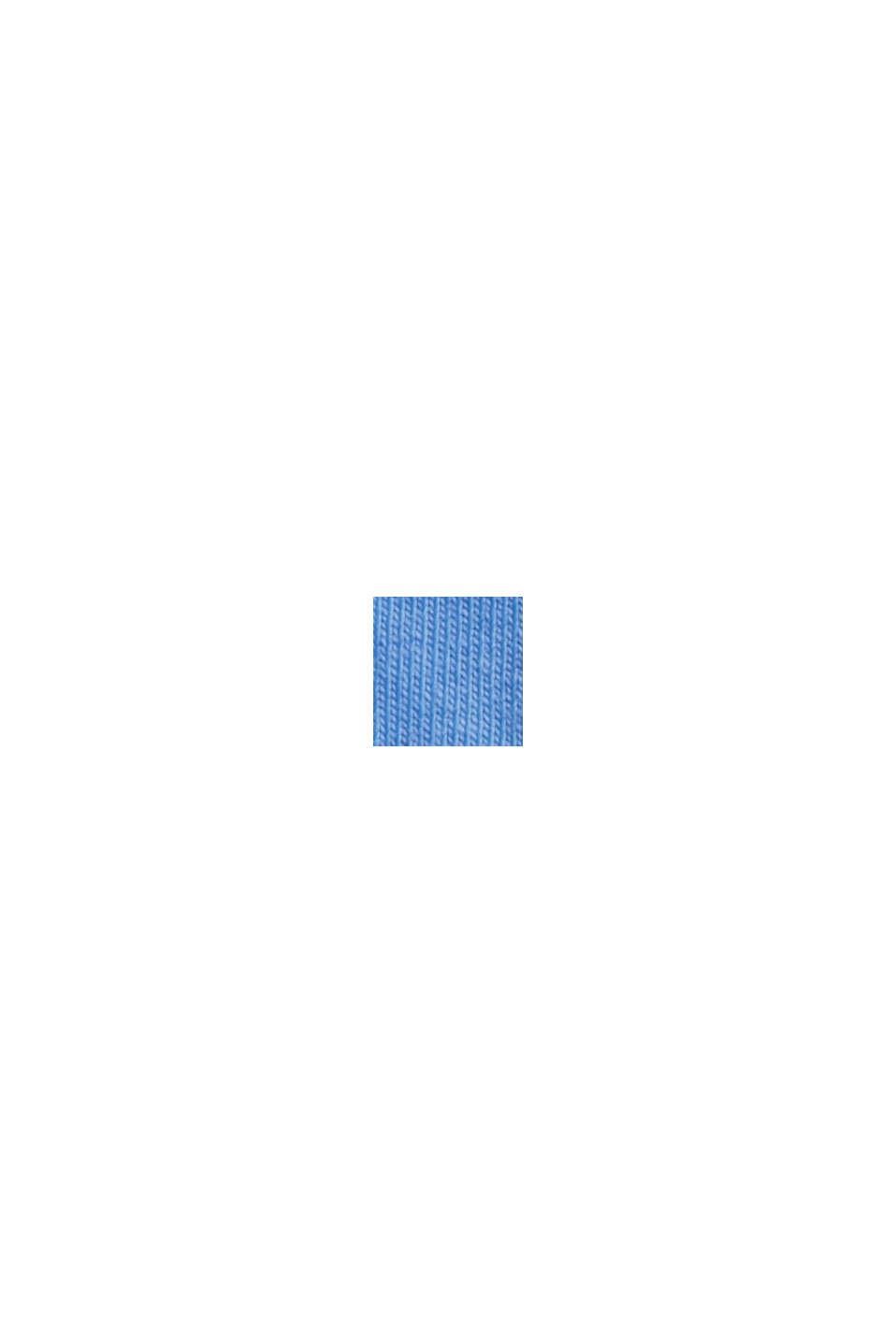 Langes Tanktop aus Organic Cotton, BRIGHT BLUE, swatch