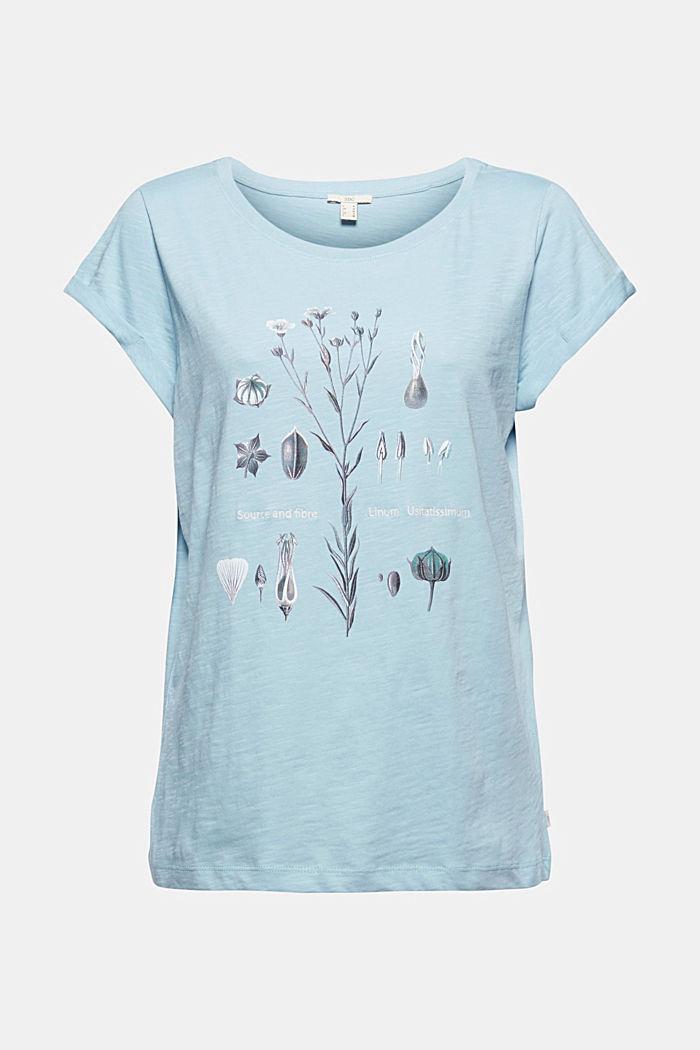 Camiseta con estampado, 100% algodón ecológico