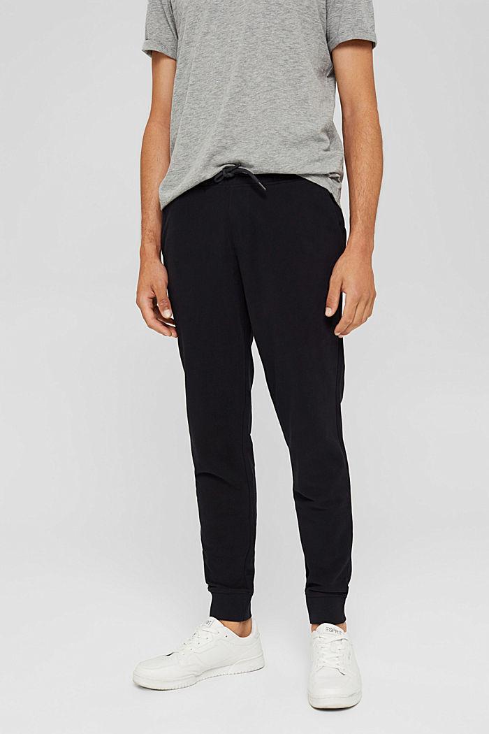 Spodnie dresowe, BLACK, detail image number 0