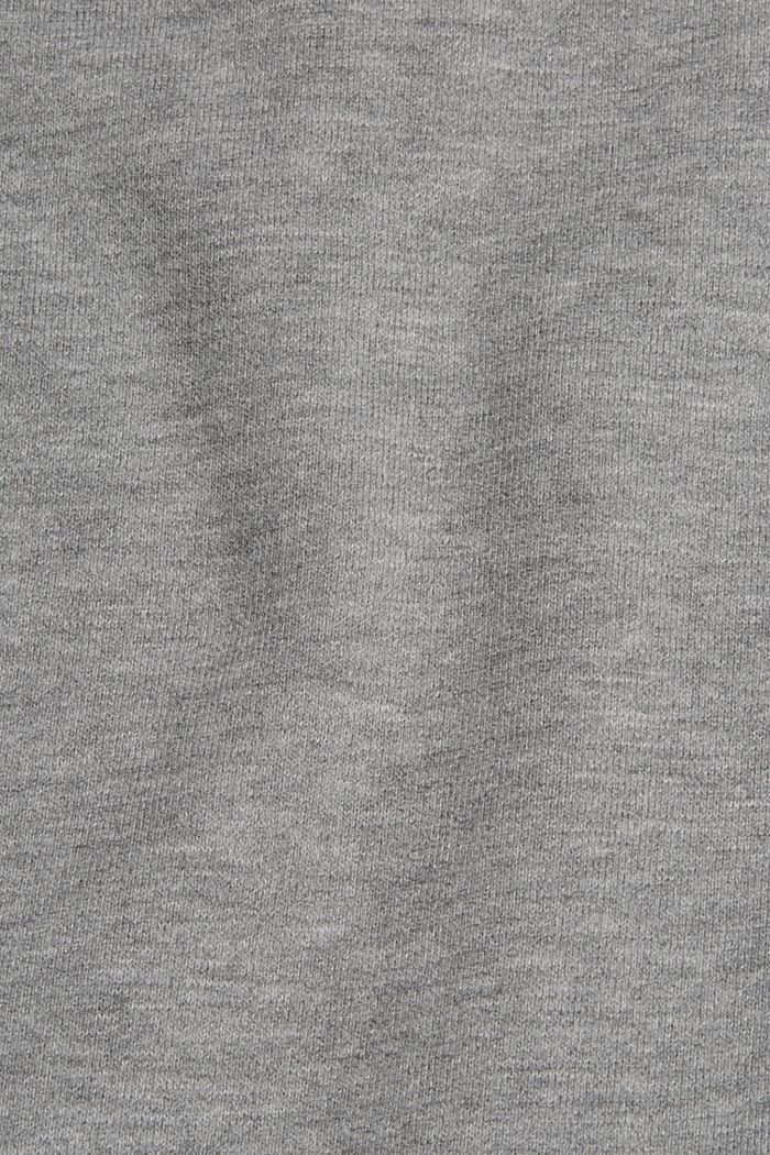 Mikina v joggingovém stylu, MEDIUM GREY, detail image number 5