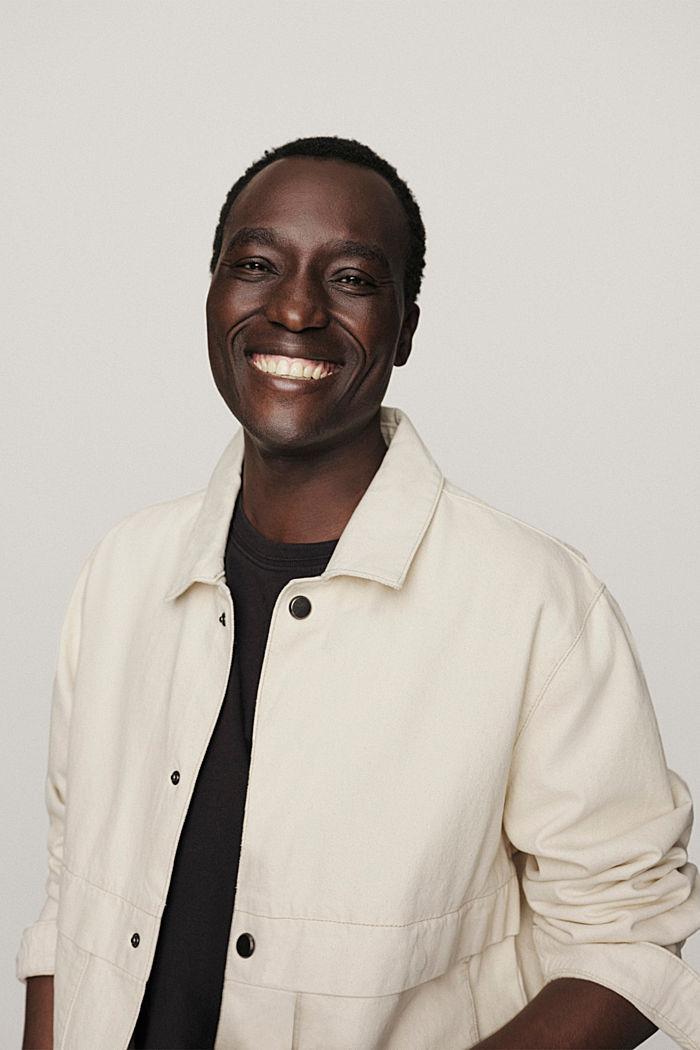 100% cotton twill jacket