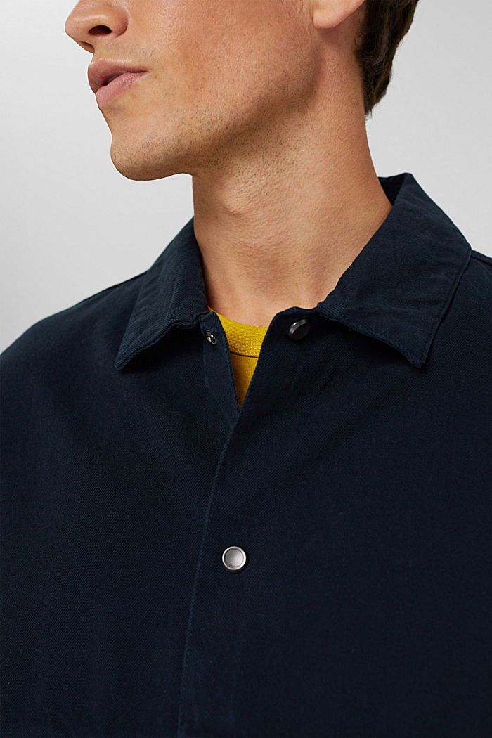 100% cotton twill jacket, NAVY, detail image number 2