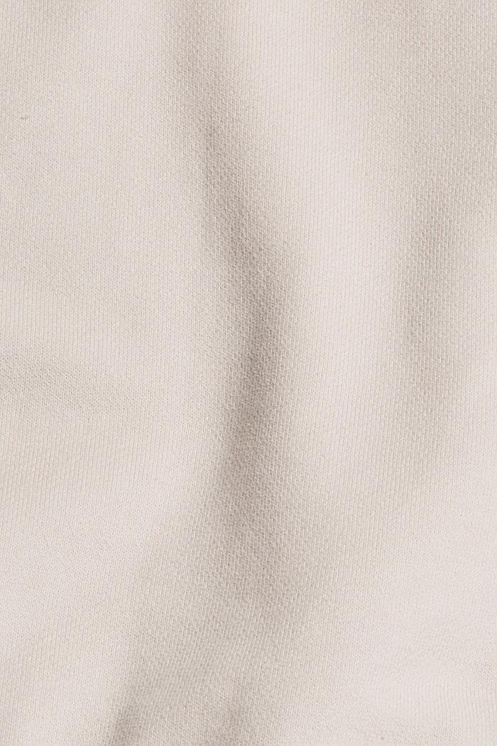 Sweatshirt van 100% katoen, CREAM BEIGE, detail image number 5