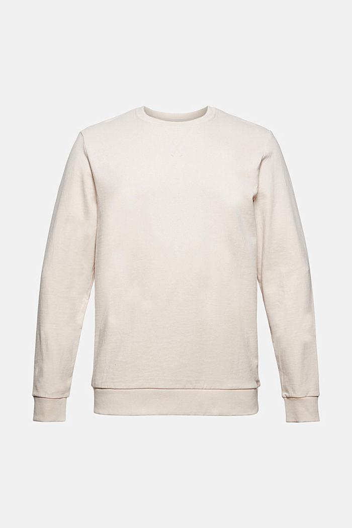 Sweatshirt in 100% cotton
