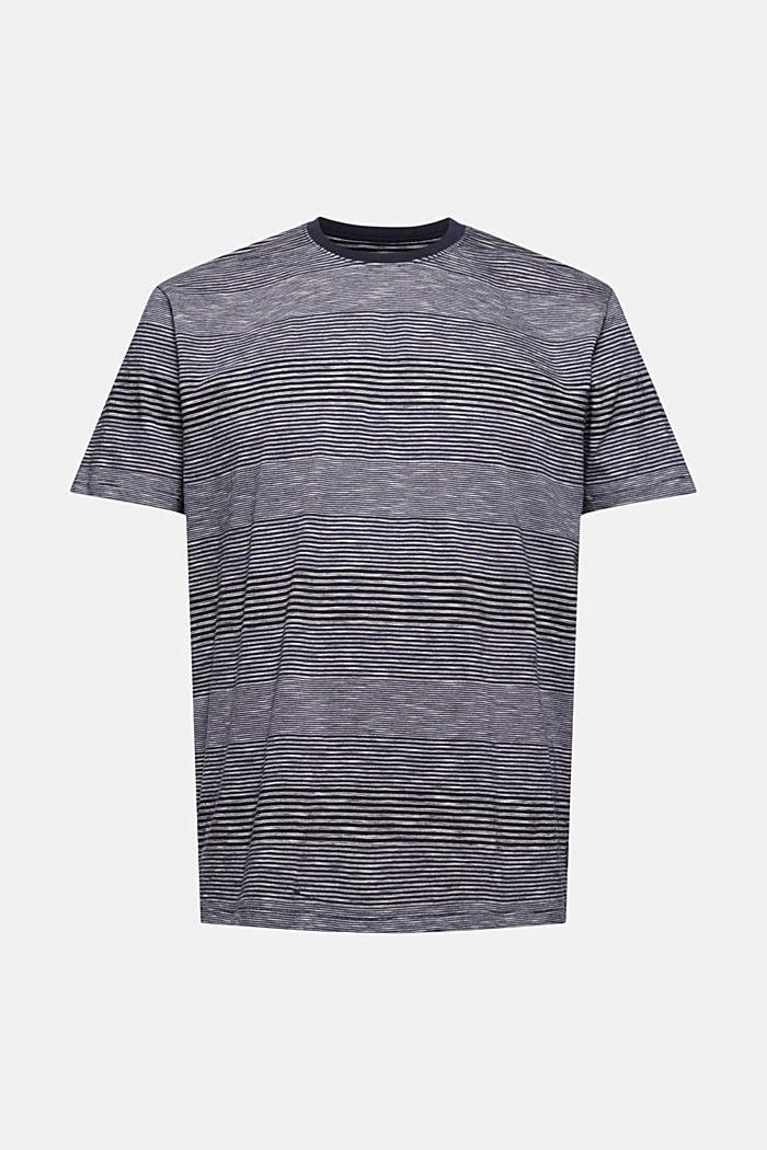 Gestreept jersey T-shirt van biologisch katoen