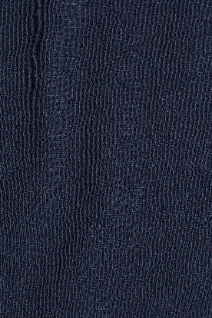 Jersey-T-Shirt mit Print, 100% Bio-Baumwolle, NAVY, detail image number 4