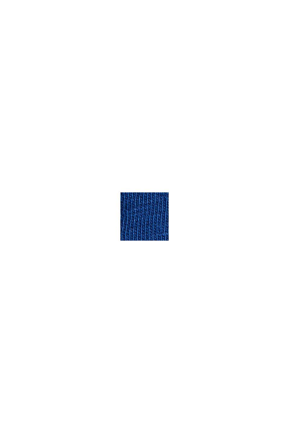 Printtikuvioitu jersey-t-paita, 100 % luomupuuvillaa, DARK BLUE, swatch
