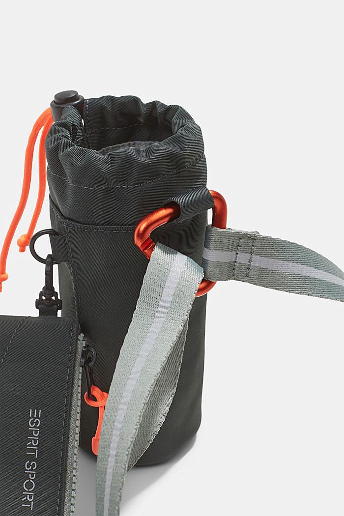 SPORT bottle holder with purse, DARK KHAKI, detail image number 2