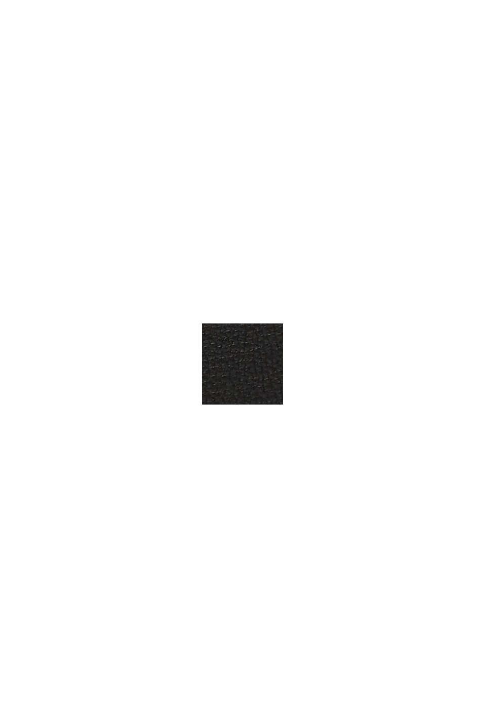Veganský produkt: kabelka z imitace kůže ve stylu hobo, BLACK, swatch