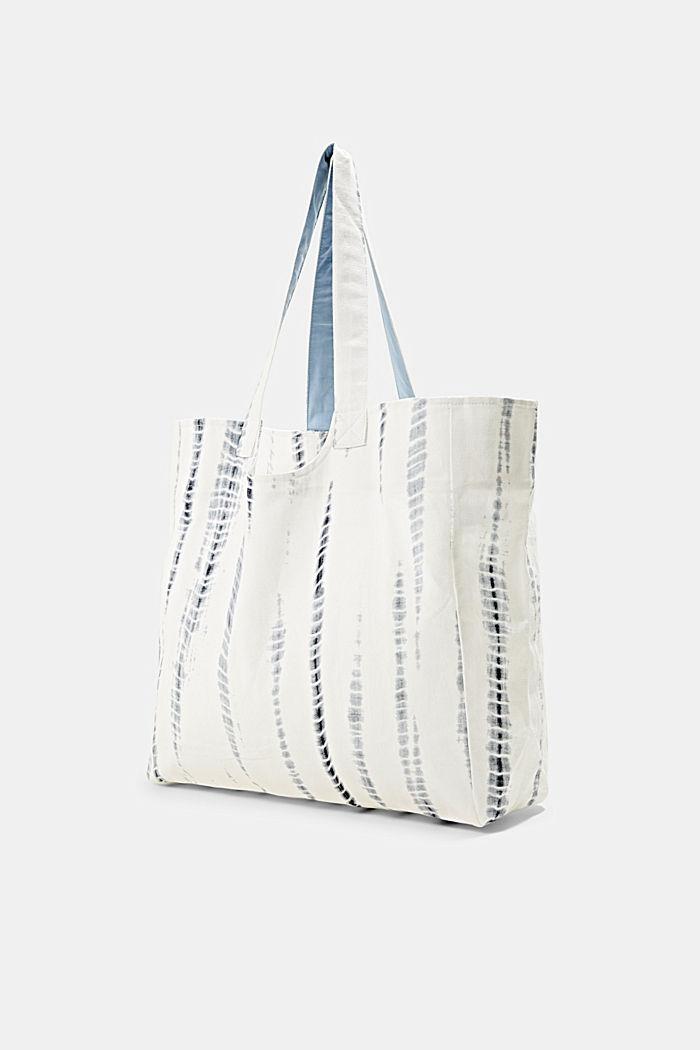 Shopper aus 100% Baumwolle, GREY BLUE, detail image number 2