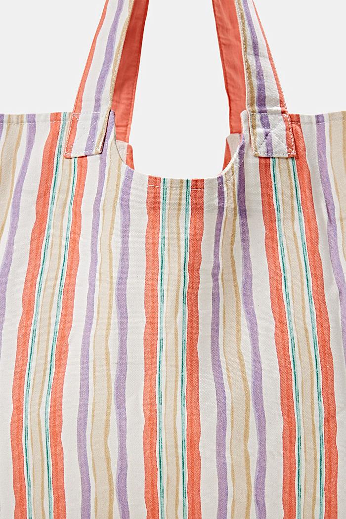 Shopper aus 100% Baumwolle, VIOLET, detail image number 3
