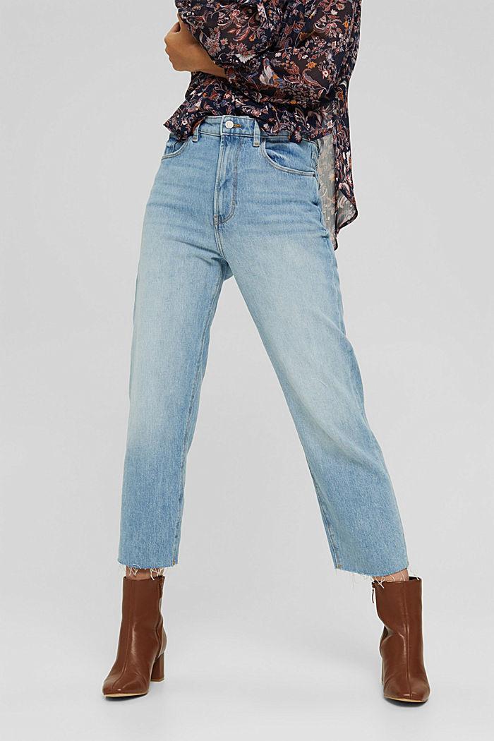 Jeans 7/8 con taglio fashion