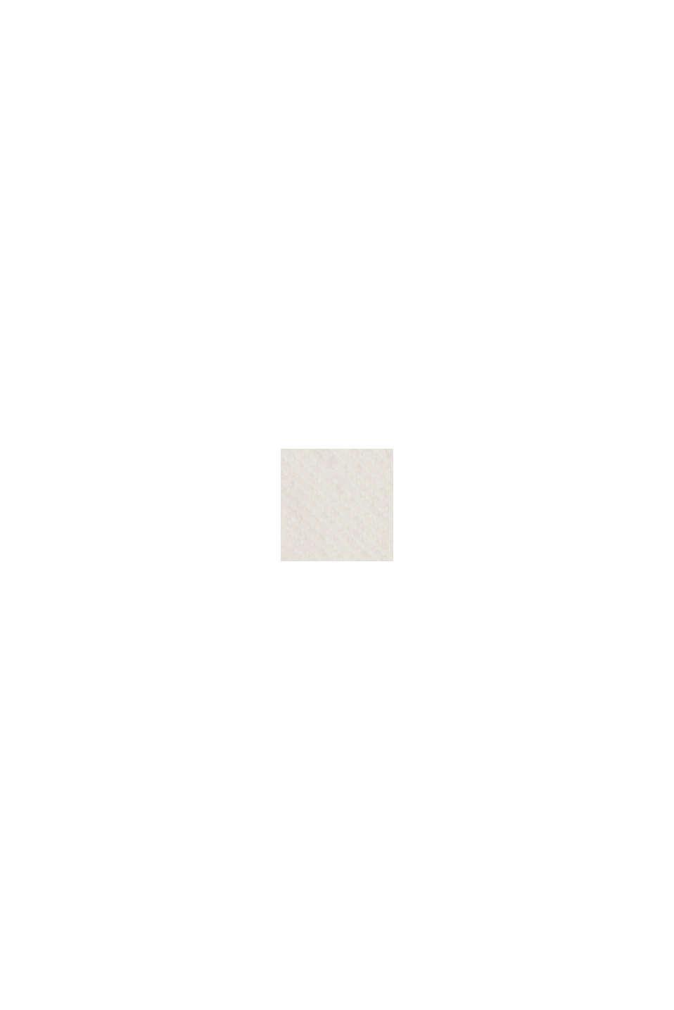 Relaxte 7/8-Hose im Washed-Look, Bio-Baumwolle, OFF WHITE, swatch