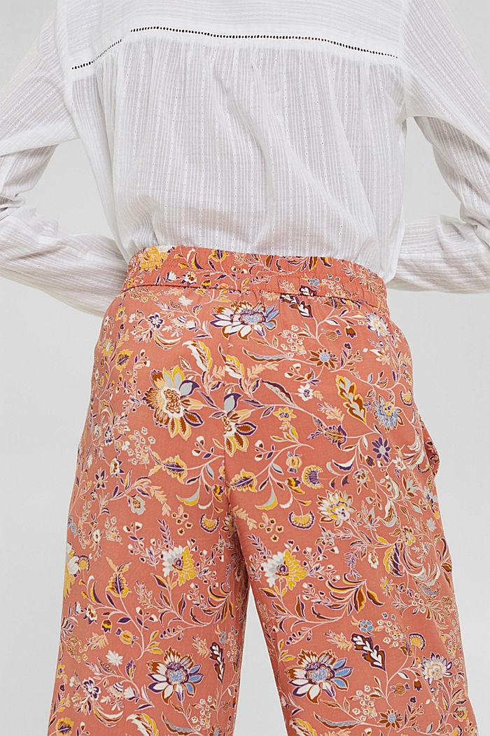 Print-Hose mit weitem Bein, LENZING™ ECOVERO™, BLUSH, detail image number 5