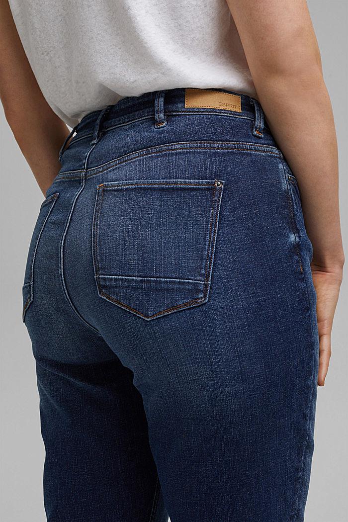 CURVY Stretch-Jeans aus Organic Cotton, BLUE DARK WASHED, detail image number 2