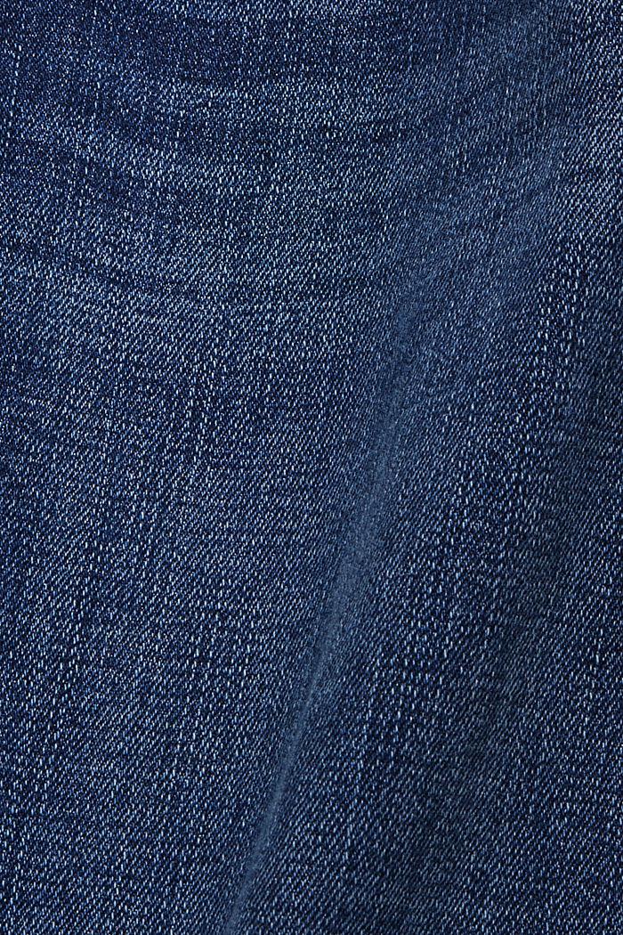 CURVY Stretch-Jeans aus Organic Cotton, BLUE DARK WASHED, detail image number 3