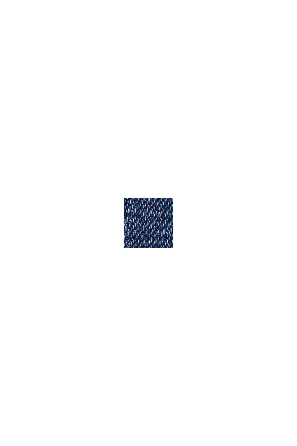 CURVY Stretch-jeans af økologisk bomuld, BLUE DARK WASHED, swatch