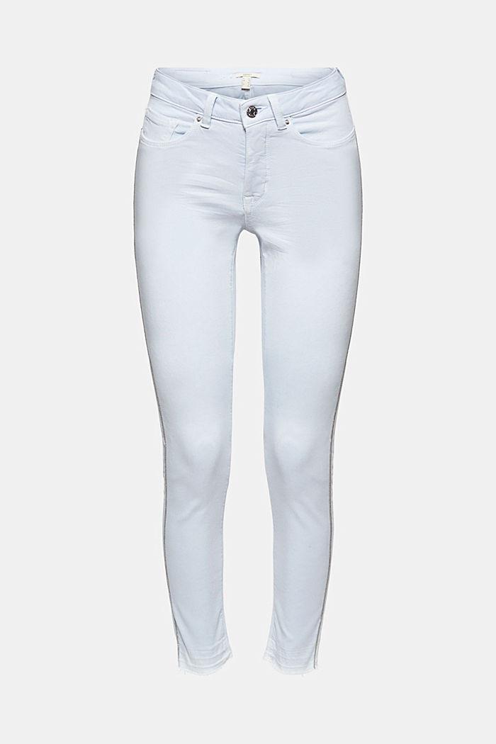 Stretch-Hose mit seitlichen Zierstreifen