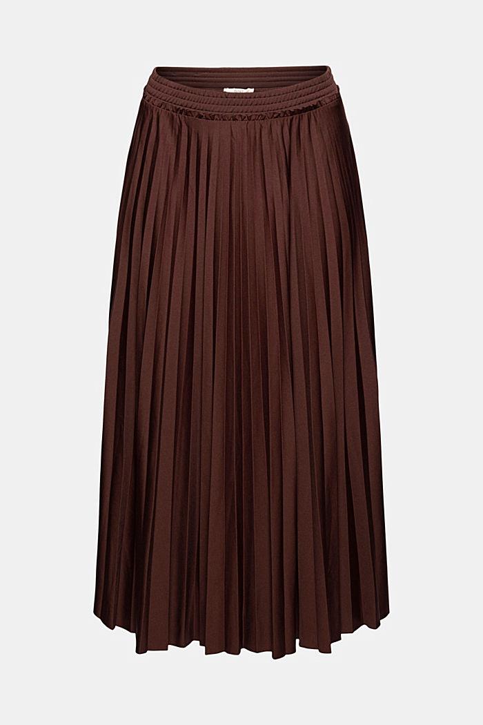Skirts knitted Pleated Skirt midi