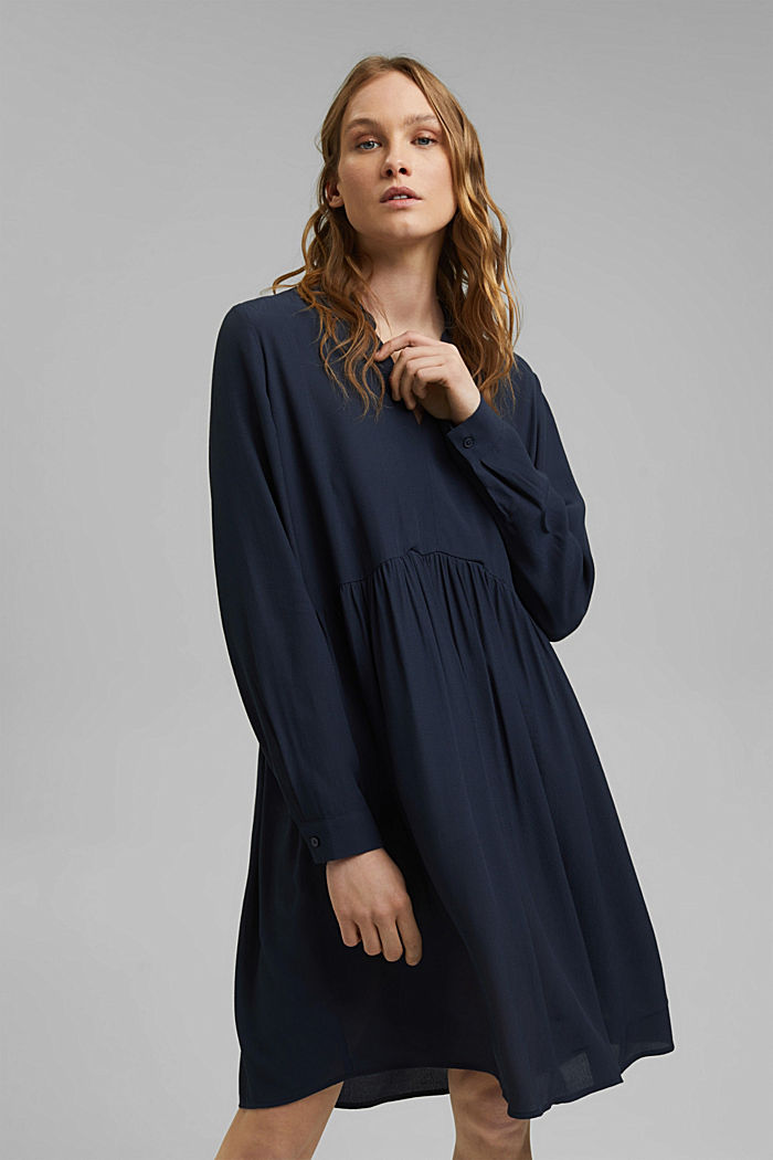 Blusenkleid mit LENZING™ ECOVERO™