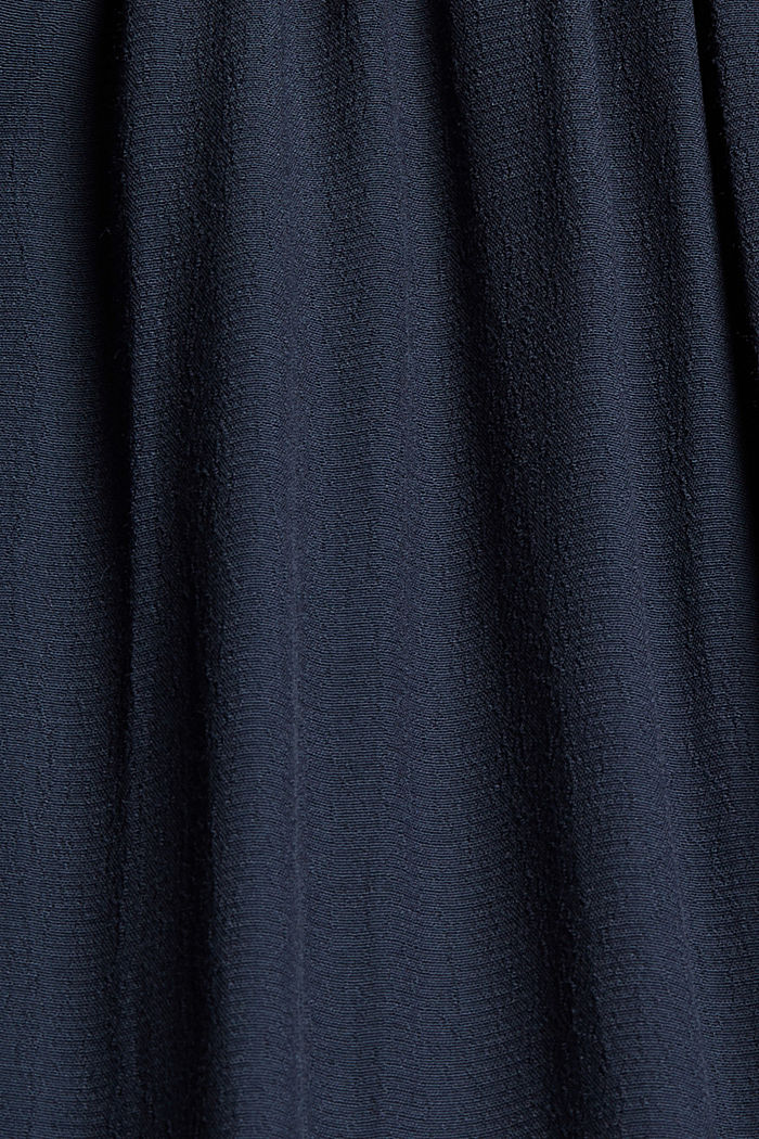 Blusenkleid mit LENZING™ ECOVERO™, NAVY, detail image number 4