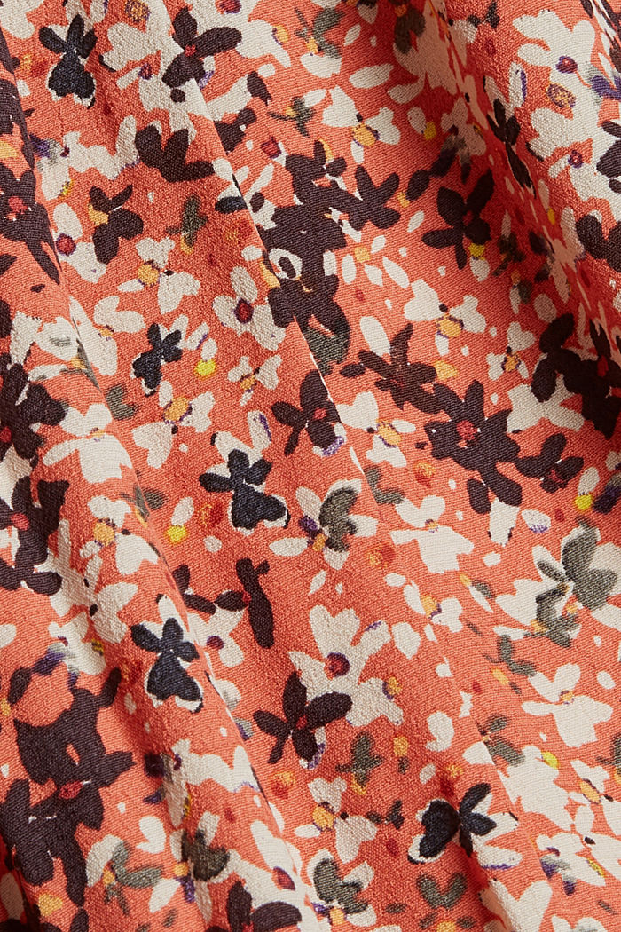 Tent dress with a mille-fleurs print, BLUSH, detail image number 4