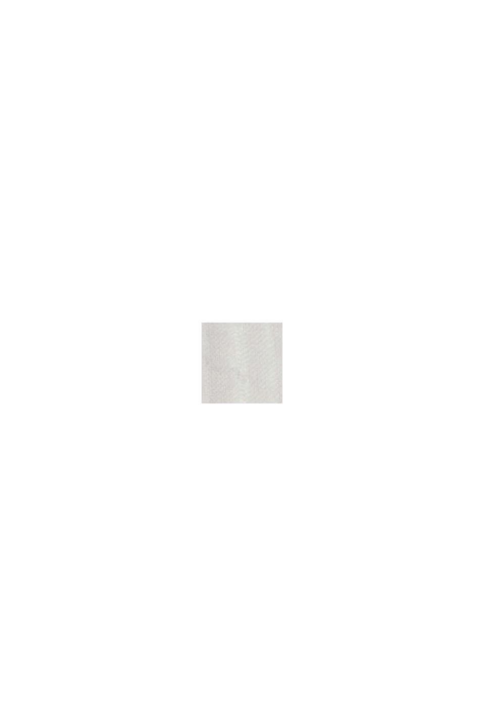 Blouse met geweven structuur, 100% katoen, OFF WHITE, swatch