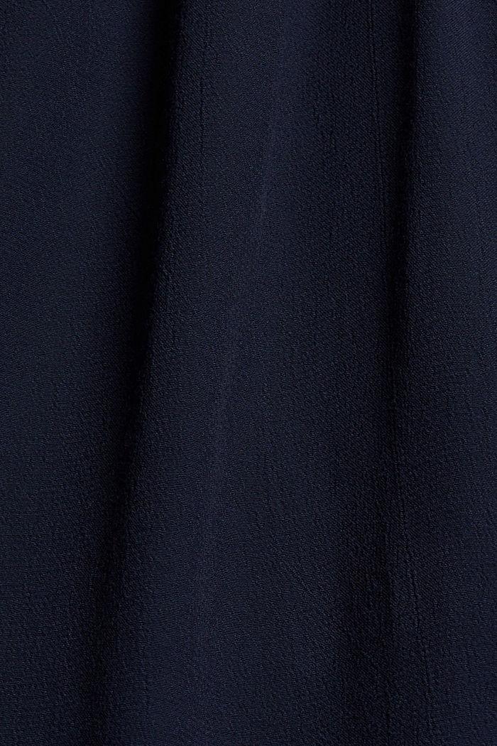 Blouses woven Carmen Blouse longsleeve, NAVY, detail image number 4