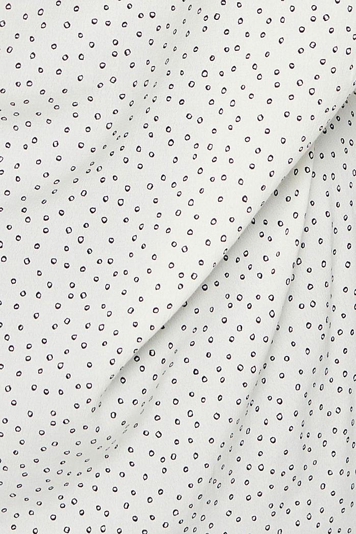 CURVY Tunika-Bluse aus LENZING™ ECOVERO™, OFF WHITE, detail image number 4