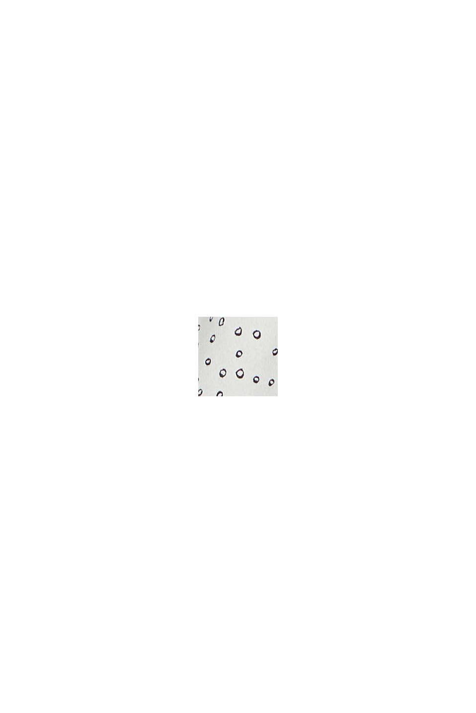 CURVY - Blusa estilo túnica en LENZING™ ECOVERO™, OFF WHITE, swatch