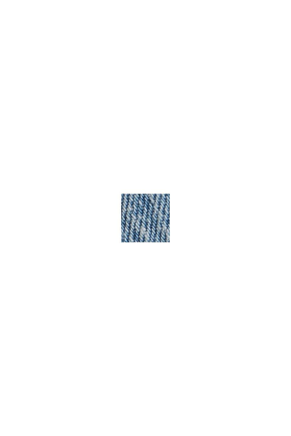Denim overshirt made of organic cotton, BLUE LIGHT WASHED, swatch