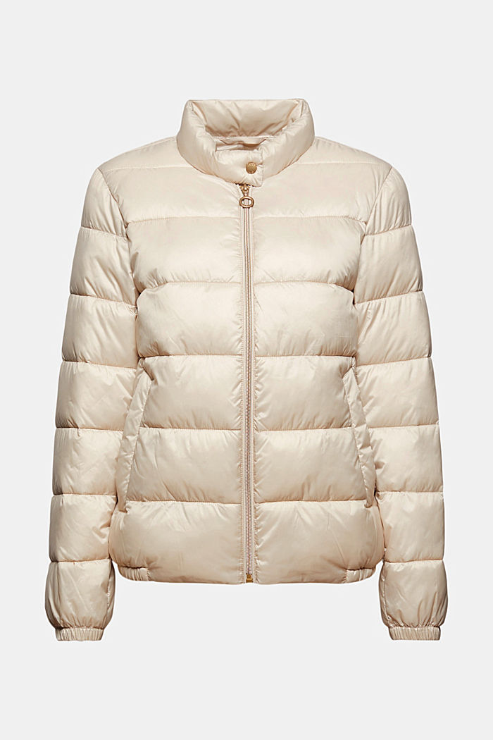 Recycled: ultra-lightweight, quilted bomber jacket