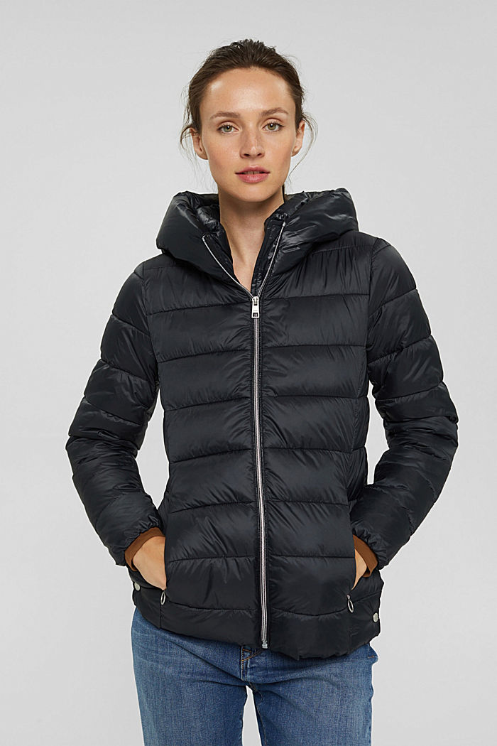 Recycelt: Steppjacke mit 3M™ Thinsulate™, BLACK, detail image number 0