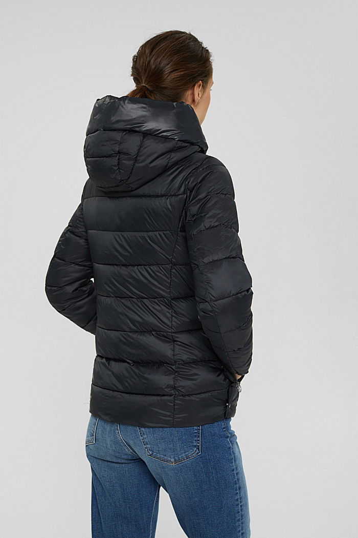 Recycelt: Steppjacke mit 3M™ Thinsulate™, BLACK, detail image number 3