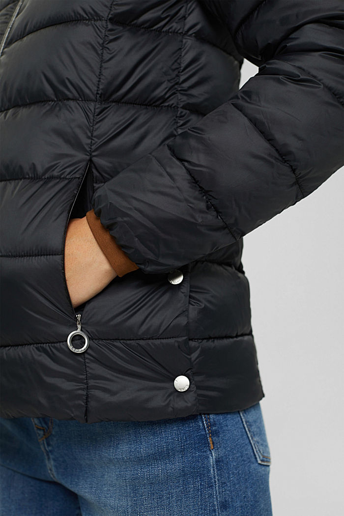 Recycelt: Steppjacke mit 3M™ Thinsulate™, BLACK, detail image number 2