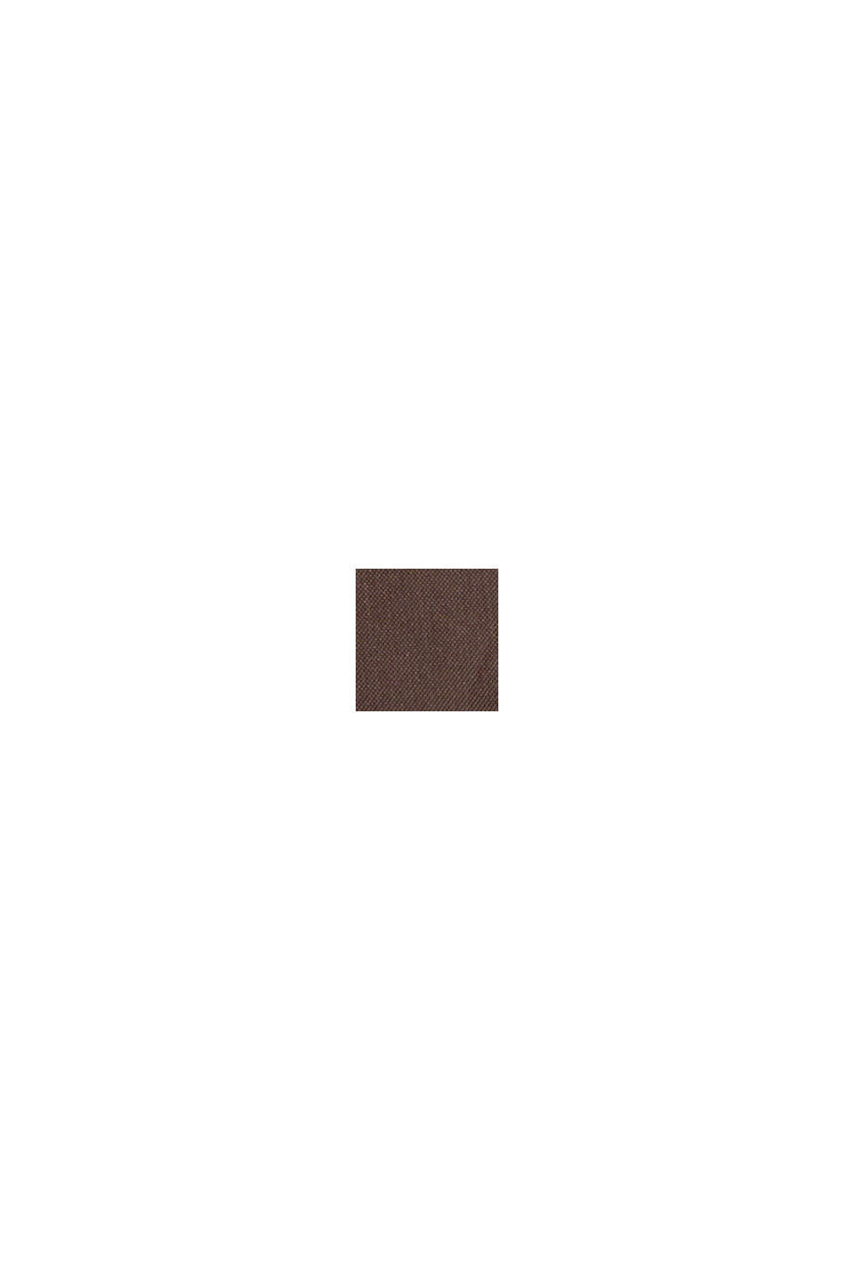 Recycled: Quilted jacket with 3M™ Thinsulate™, RUST BROWN, swatch