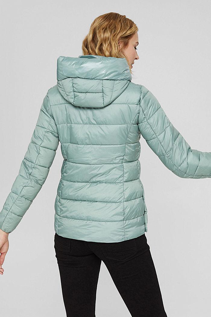 En matière recyclée: la veste matelassée à teneur en 3M™ Thinsulate™, DUSTY GREEN, detail image number 3