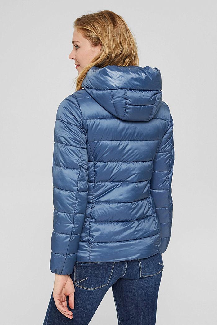 En matière recyclée: la veste matelassée à teneur en 3M™ Thinsulate™, GREY BLUE, detail image number 3