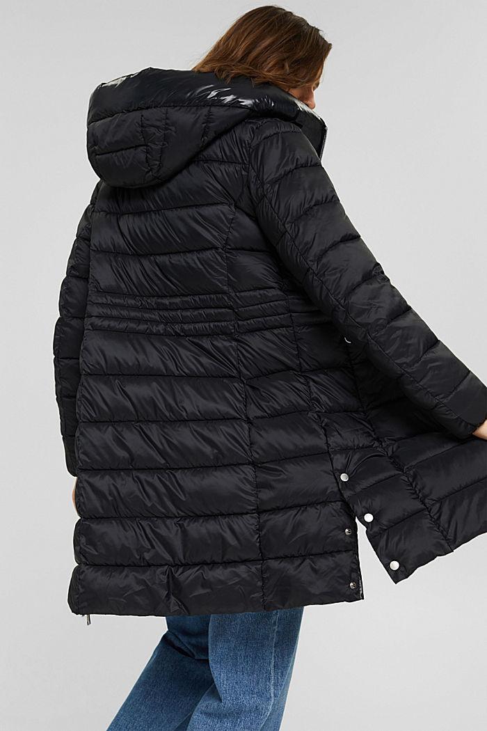 Reciclado: abrigo acolchado con Thinsulate 3M™, BLACK, detail image number 3