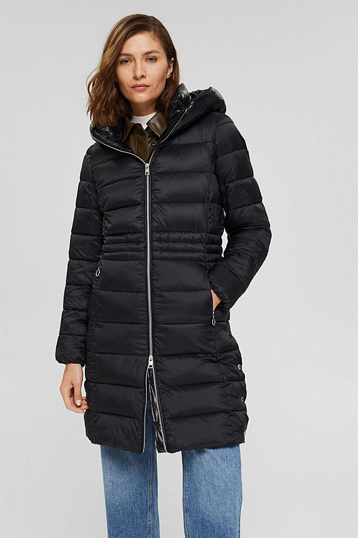 Reciclado: abrigo acolchado con Thinsulate 3M™, BLACK, detail image number 6